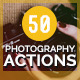50 Photography Actions  - GraphicRiver Item for Sale