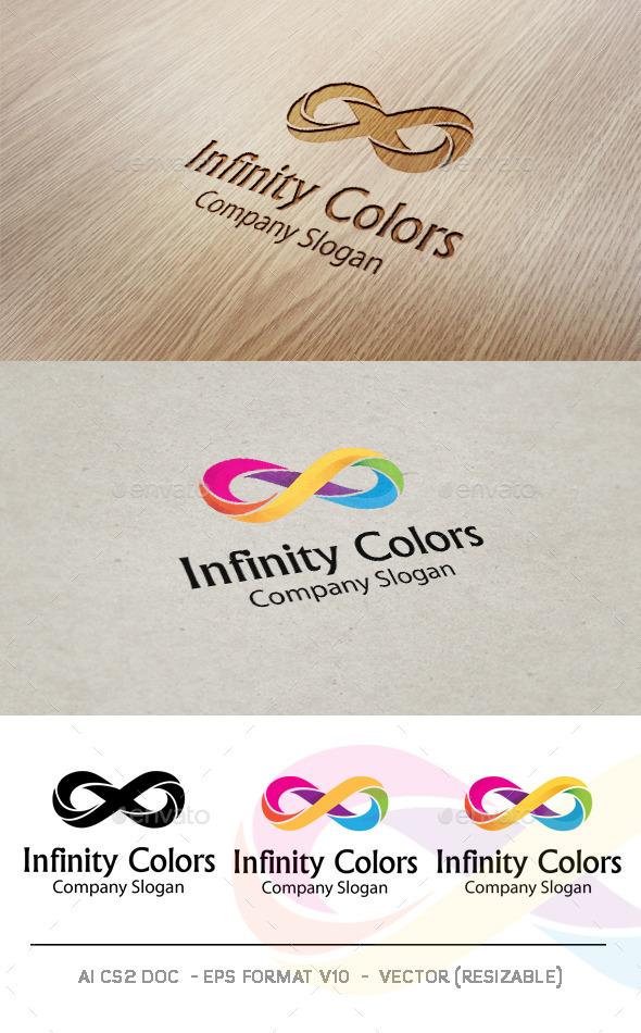 Infinity Colors V2 Logo - Symbols Logo Templates