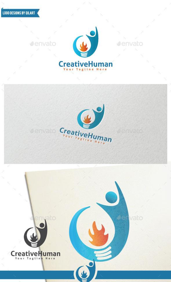 CreativeHuman - Abstract Logo Templates