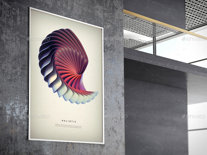 Exhibition Stall Mockup Psd : Poster exhibition gallery mockups by wutip graphicriver