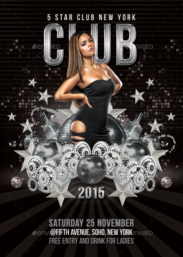 5 Star Club Party Or Celebration - Clubs & Parties Events