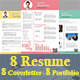 Modern Resume - GraphicRiver Item for Sale