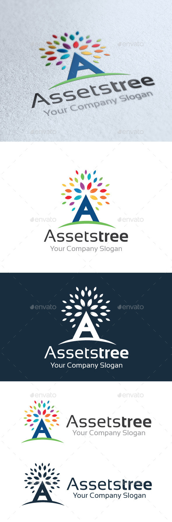 Assets Tree - Nature Logo Templates