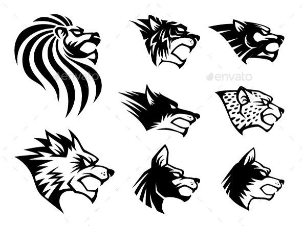 Wild Beast Symbol - Animals Characters
