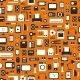 Seamless Pattern of Electronic Devices  - GraphicRiver Item for Sale