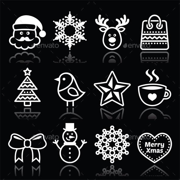 Christmas, Winter Icons  - Christmas Seasons/Holidays