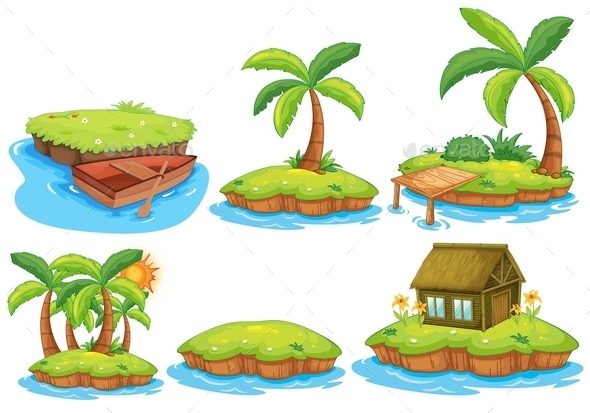 Islands - Buildings Objects