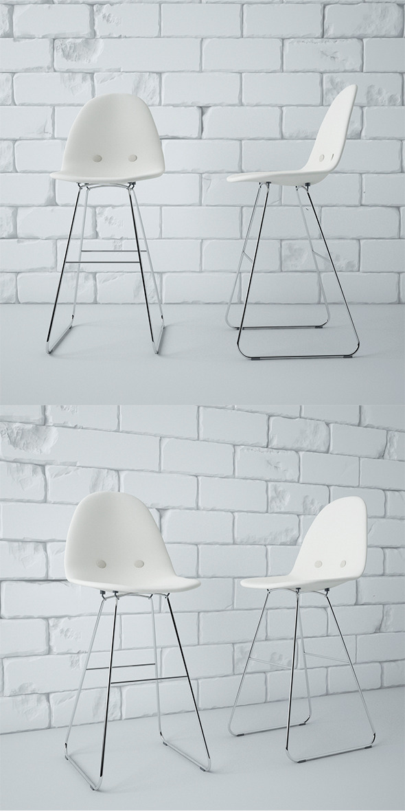 Eyes Chair Style - 3DOcean Item for Sale