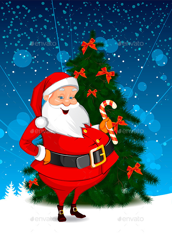 Christmas Santa - Christmas Seasons/Holidays