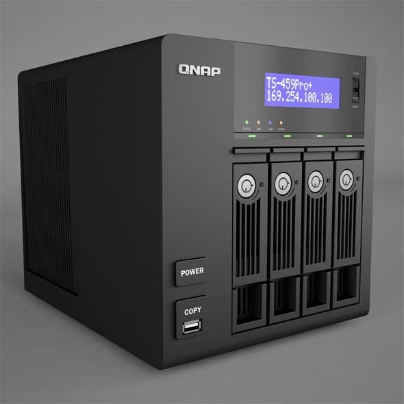 QNAP Network Attached Storage - 3DOcean Item for Sale