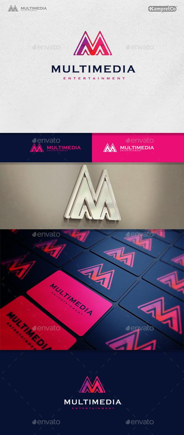 Mountain Multimedia Logo - Letters Logo Templates