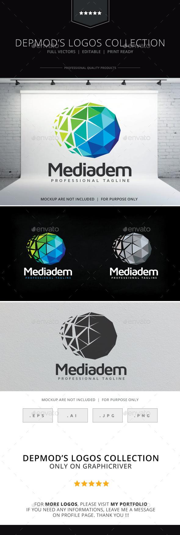 Mediadem Logo - Abstract Logo Templates