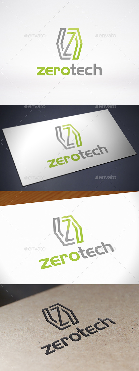 Zero Letter Z Logo Template - Letters Logo Templates