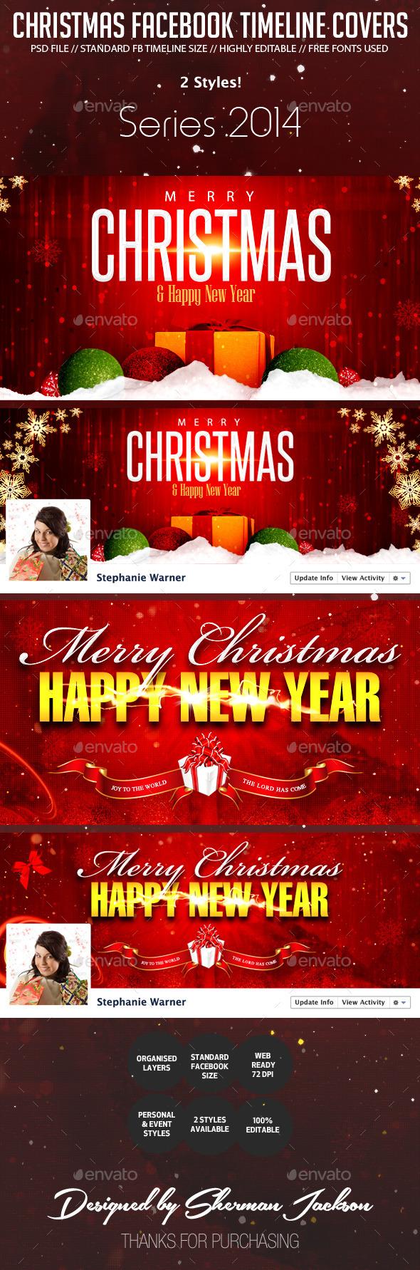 Christmas Holiday Facebook Cover Photos - Facebook Timeline Covers Social Media