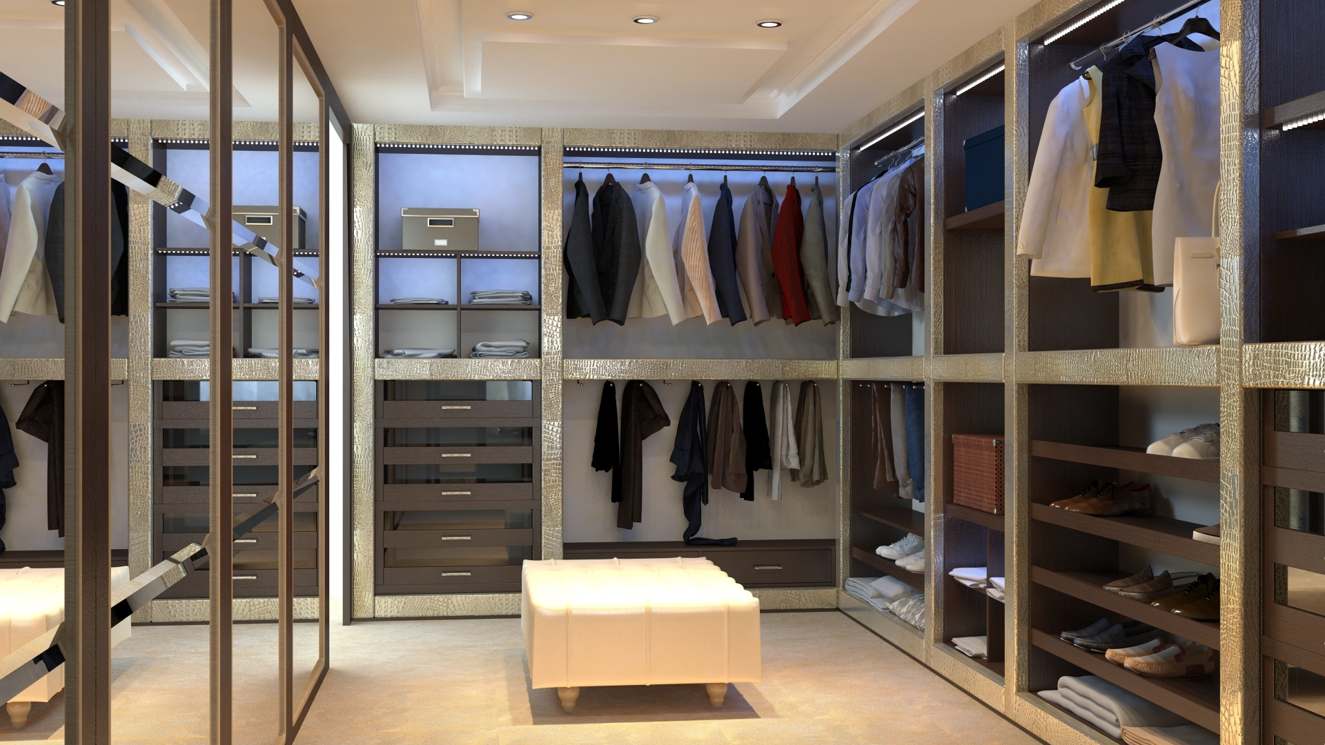 Dressing room 0339 by themerex 3docean for Configurateur dressing 3d