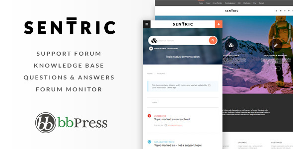 Sentric - Support Forum & Knowledge Base - Miscellaneous WordPress