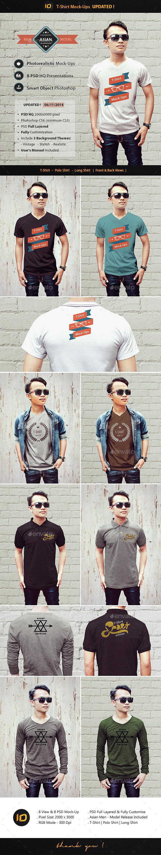 ID T-Shirt Mock-Ups - T-shirts Apparel