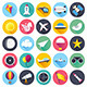 Aviation Vector Icons - GraphicRiver Item for Sale