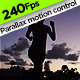Running Silhouette in Sunset - VideoHive Item for Sale