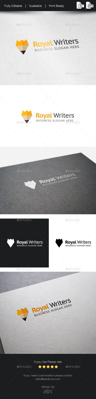 Royal Writers Logo Template - Symbols Logo Templates