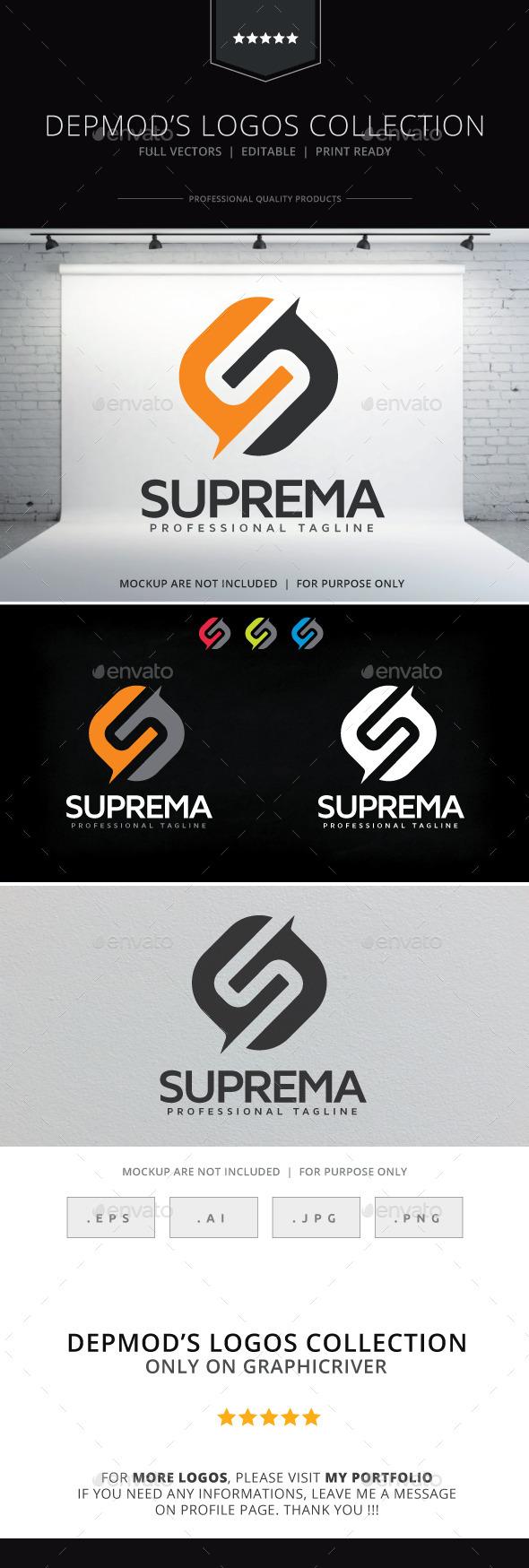 Suprema Logo  - Letters Logo Templates