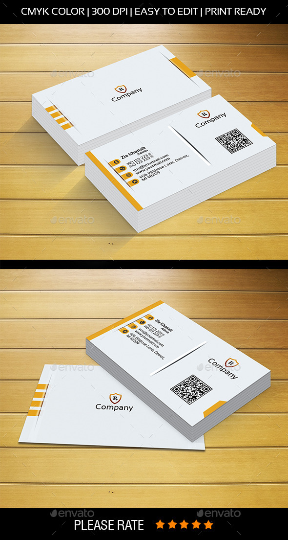 Modren Business Card - Corporate Business Cards