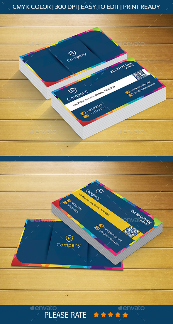 Creative Design Business Card - Creative Business Cards