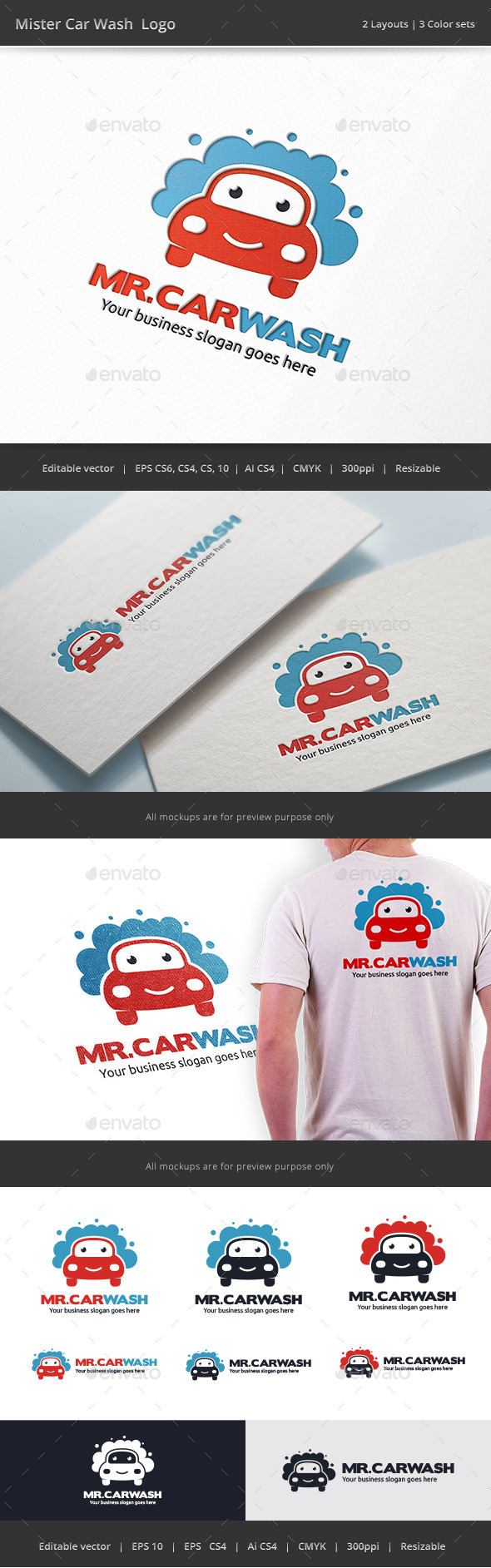 Mister Car Wash Logo