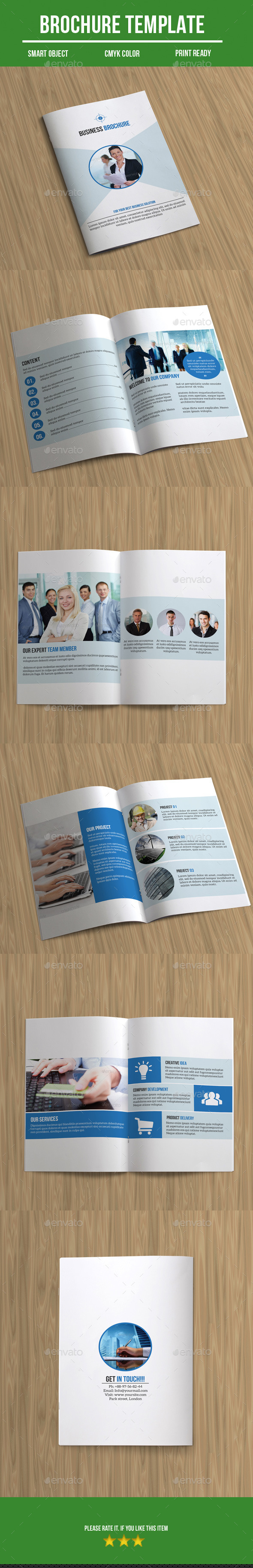 Bi- Fold Business Brochure - Corporate Brochures