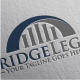 Bridge Legal Logo - GraphicRiver Item for Sale
