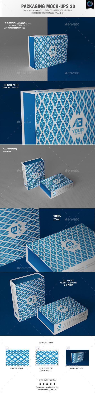 Packaging Mock-ups 20 - Packaging Product Mock-Ups