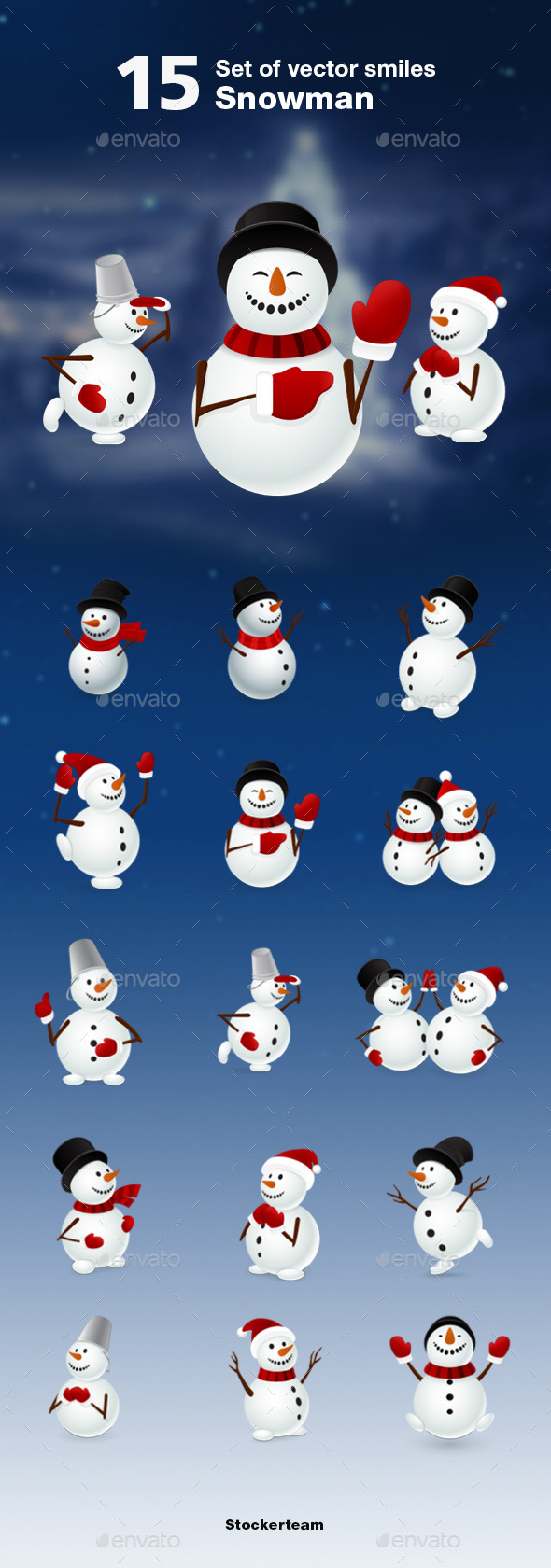 Snowman - New Year Seasons/Holidays