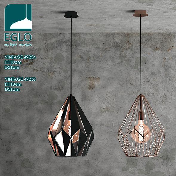 Eglo vintage - 3DOcean Item for Sale