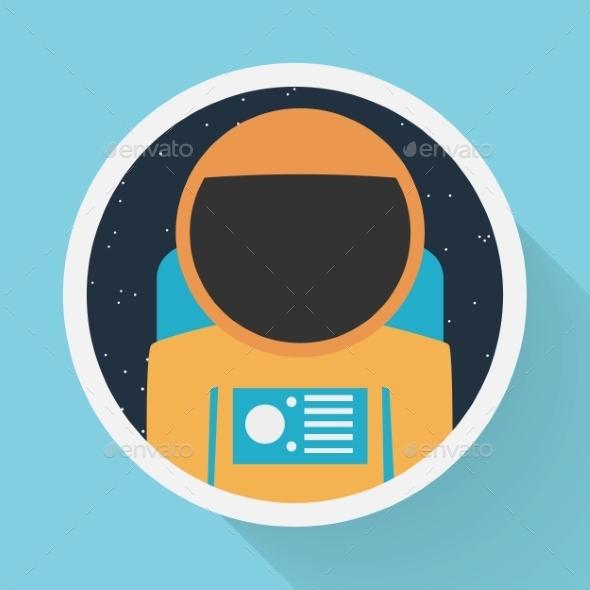 Astronaut Portrait - Web Technology