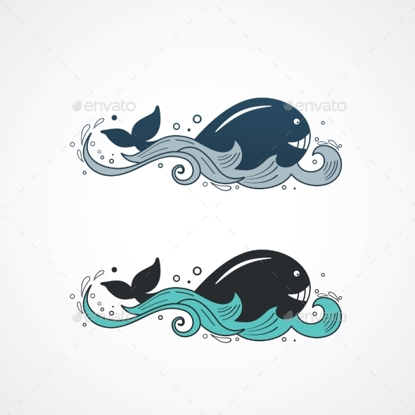 Whale  - Animals Characters