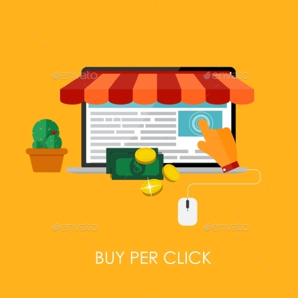 Online Shopping Buy Per Click  - Web Technology