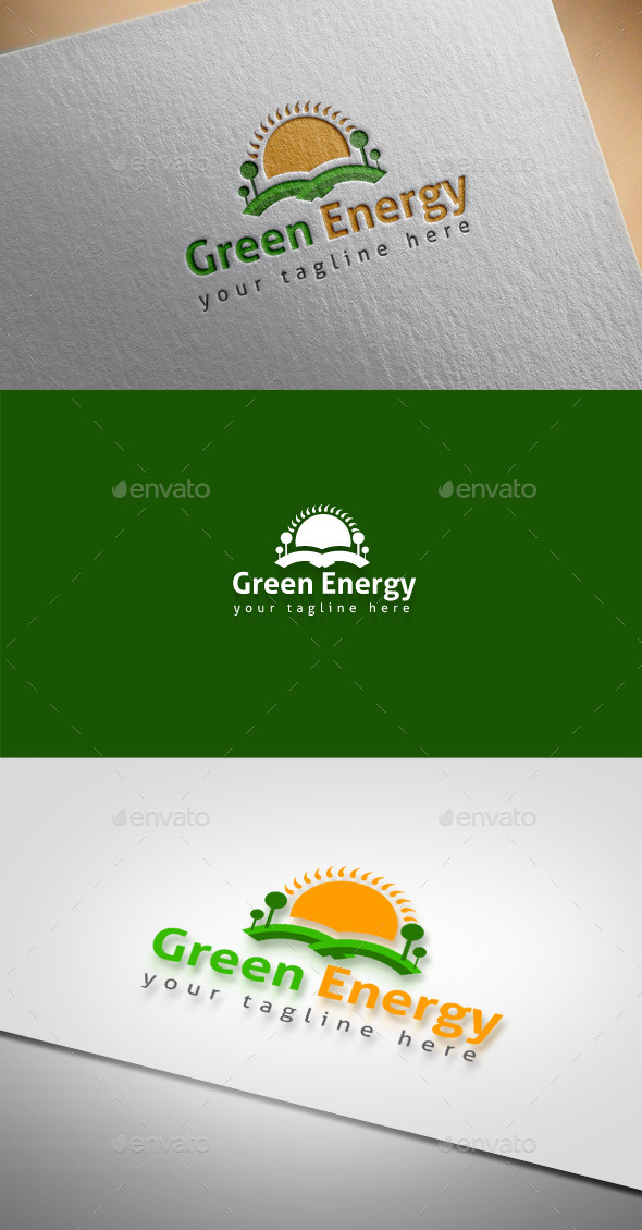 Green Energy - Nature Logo Templates