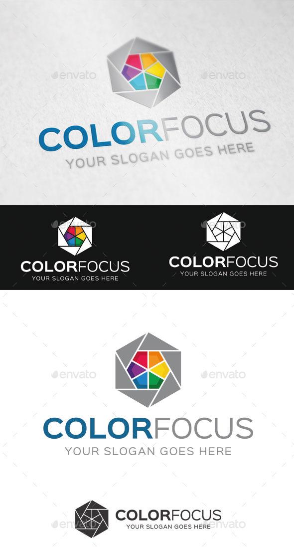 Color Focus Logo Template - Abstract Logo Templates