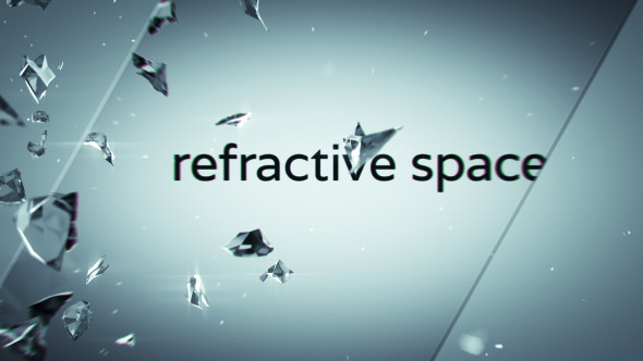 Refractive Space Logo Sting With Titles