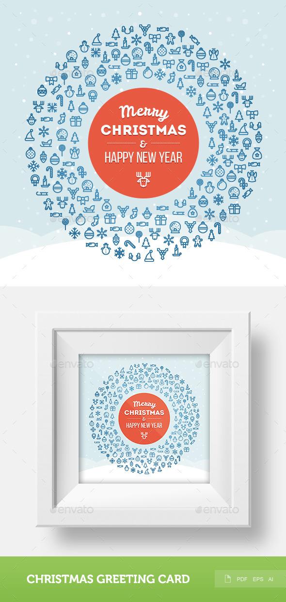Christmas Greeting Card 2 - Christmas Seasons/Holidays