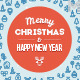 Christmas Greeting Card 2 - GraphicRiver Item for Sale