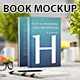 Hard Cover Book Mockup - GraphicRiver Item for Sale