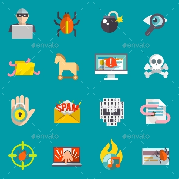 Hacker Icons Set - Software Icons