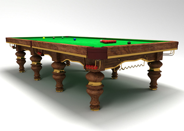snooker table design - 3DOcean Item for Sale