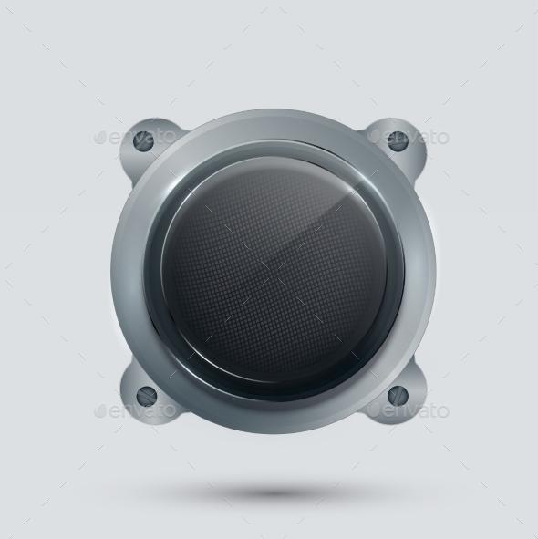 Modern Speaker - Computers Technology