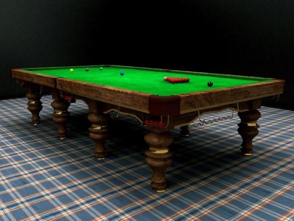 Snooker Table Design