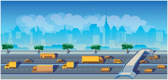 Highway in a Big City - Conceptual Vectors