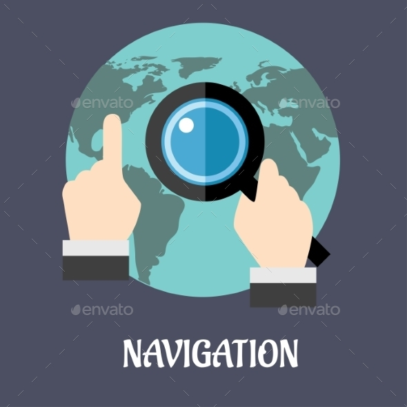 Navigation or Search Concept - Web Technology