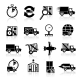 Delivery Icons Set - GraphicRiver Item for Sale