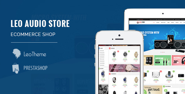 Leo Audio-Responsive Multipurpose PrestaShop Theme - Technology PrestaShop